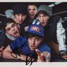 """The Janoskians FULLY SIGNED 8"""" x 10"""" Photo + Certificate Of Authentication 100% Genuine"""