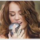 "Miley Cyrus SIGNED 8"" x 10"" Photo + Certificate Of Authentication  100% Genuine"