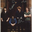 "The Courteeners SIGNED 8"" x 10"" Photo + Certificate Of Authentication 100% Genuine"