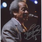 Allen Toussaint SIGNED Photo + Certificate Of Authentication 100% Genuine