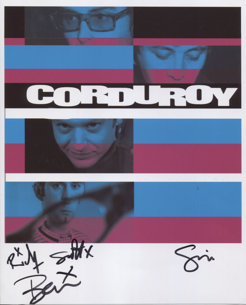 Corduroy (Band) Ben Scott Addison SIGNED  Photo + Certificate Of Authentication  100% Genuine