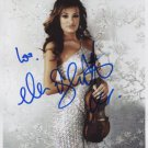 Nicola Benedetti SIGNED Photo + Certificate Of Authentication 100% Genuine