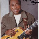 George Benson SIGNED Photo + Certificate Of Authentication 100% Genuine