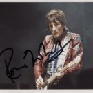 Ronnie Wood (Rolling Stones) SIGNED Photo + Certificate Of Authentication 100% Genuine