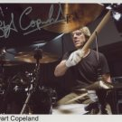 Stewart Copeland The Police SIGNED Photo + Certificate Of Authentication 100% Genuine