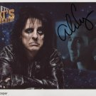 "Alice Cooper SIGNED 8"" x 10"" Photo + Certificate Of Authentication  100% Genuine"