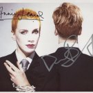 The Eurythmics Dave Stewart & Annie Lennox SIGNED Photo + Certificate Of Authentication 100% Gen.