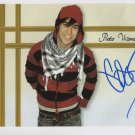 """Pete Wentz Fall Out Boy SIGNED 8"""" x 10"""" Photo + Certificate Of Authentication  100% Genuine"""