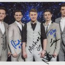 Collabro (Band) FULLY SIGNED Photo + Certificate Of Authentication  100% Genuine