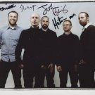 """Mogwai (Band) FULLY SIGNED 8"""" x 10"""" Photo + Certificate Of Authentication 100% Genuine"""