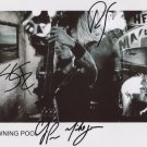 """Drowning Pool (Band) SIGNED 8"""" x 10"""" Photo + Certificate Of Authentication  100% Genuine"""