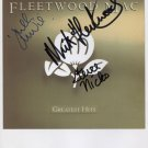 Fleetwood Mac Stevie Nicks John McVie & Mick SIGNED Photo + Certificate Of Authentication 100% Gen.