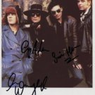 The Mission (Band) SIGNED Photo + Certificate Of Authentication  100% Genuine