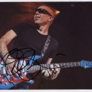 "Joe Satriani SIGNED 8"" x 10"" Photo + Certificate Of Authentication  100% Genuine"