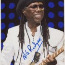 "Nile Rodgers Chic SIGNED 8"" x 10"" Photo + Certificate Of Authentication  100% Genuine"