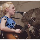 Laura Marling SIGNED Photo + Certificate Of Authentication 100% Genuine