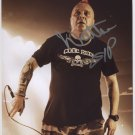 "Wattie The Exploited Punk Band SIGNED 8"" x 10"" Photo + Certificate Of Authentication  100% Genuine"