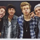 5 Seconds Of Summer FULLY SIGNED Photo + Certificate Of Authentication 100% Genuine
