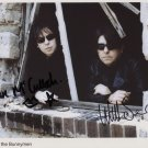 Echo & The Bunnymen SIGNED Photo + Certificate Of Authentication 100% Genuine