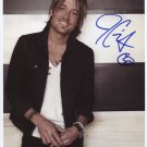 Keith Urban SIGNED Photo + Certificate Of Authentication 100% Genuine
