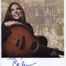 Carlene Carter SIGNED Photo + Certificate Of Authentication 100% Genuine
