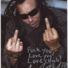 Faith No More Chuck Mosley SIGNED Photo + Certificate Of Authentication 100% Genuine