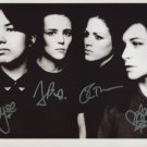 "The Savages (Band) Jehnny Beth SIGNED 8"" x 10"" Photo + Certificate Of Authentication 100% Genuine"