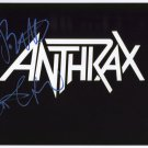 Anthrax (Band) Scott Ian SIGNED  Photo + Certificate Of Authentication  100% Genuine