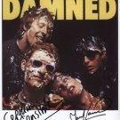 "The Damned (Band) Vanian Sensible SIGNED 8"" x 10"" Photo + Certificate Of Authentication 100% Genuine"