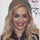 "Rita Ora SIGNED 8"" x 10"" Photo + Certificate Of Authentication  100% Genuine"