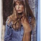 "Jane Birkin SIGNED 8"" x 10"" Photo + Certificate Of Authentication 100% Genuine"