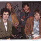 "The Vaccines (Band) FULLY SIGNED 8"" x 10"" Photo + Certificate Of Authentication 100% Genuine"