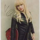 "Orianthi (Alice Cooper Band) SIGNED 8"" x 10"" Photo + Certificate Of Authentication 100% Genuine"