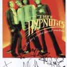 Thee Hypnotics (Band) FULLY SIGNED Photo + Certificate Of Authentication 100% Genuine