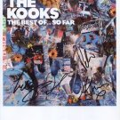 """The Kooks (Band) FULLY SIGNED 8"""" x 10"""" Photo + Certificate Of Authentication  100% Genuine"""