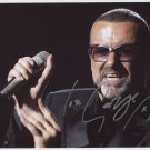 "George Michael SIGNED 8"" x 10"" Photo + Certificate Of Authentication  100% Genuine"