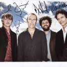Crowded House (Band) FULLY SIGNED Photo + COA Lifetime Guarantee