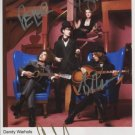 """Dandy Warhols FULLY SIGNED 8"""" x 10"""" Photo + Certificate Of Authentication 100% Genuine"""