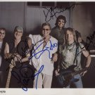 Deep Purple FULLY SIGNED  Photo + Certificate Of Authentication 100% Genuine