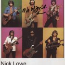 "Nick Lowe SIGNED 8"" x 10"" Photo + Certificate Of Authentication 100% Genuine"
