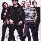 The Strokes (Band) FULLY SIGNED 8 x 10 Photo + Certificate Of Authentication  100% Genuine