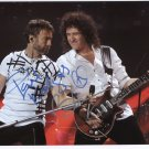 """Queen Brian May & Paul Rodgers SIGNED 8"""" x 10"""" Photo + Certificate Of Authentication 100% Genuine"""