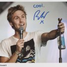 "Russell Howard SIGNED 8"" x 10"" Photo + Certificate Of Authentication  100% Genuine"