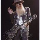Billy Gibbons ZZ Top SIGNED Photo + Certificate Of Authentication 100% Genuine