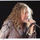 "Robert Plant SIGNED 8"" x 10"" Photo + Certificate Of Authentication 100% Genuine"