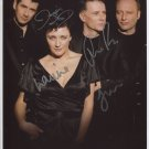 """Deacon Blue (Band) SIGNED 8"""" x 10"""" Photo + Certificate Of Authentication  100% Genuine"""