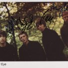 "Beady Eye (Band) Oasis Liam Gallagher FULLY SIGNED 8"" x 10"" Photo COA 100% Genuine"