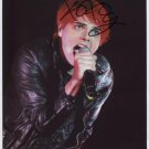 Gerard Way My Chemical Romance SIGNED Photo + Certificate Of Authentication  100% Genuine