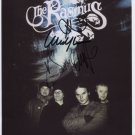 "The Rasmus (Band) FULLY SIGNED 8"" x 10"" Photo + Certificate Of Authentication  100% Genuine"