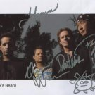 """Spocks Spock's Beard (Band) SIGNED 8"""" x 10"""" Photo + Certificate Of Authentication 100% Genuine"""